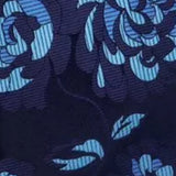 Men's Silk Tie Set - Blue Floral