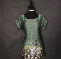 Twenty One Green Tone Blouse, US Size Small