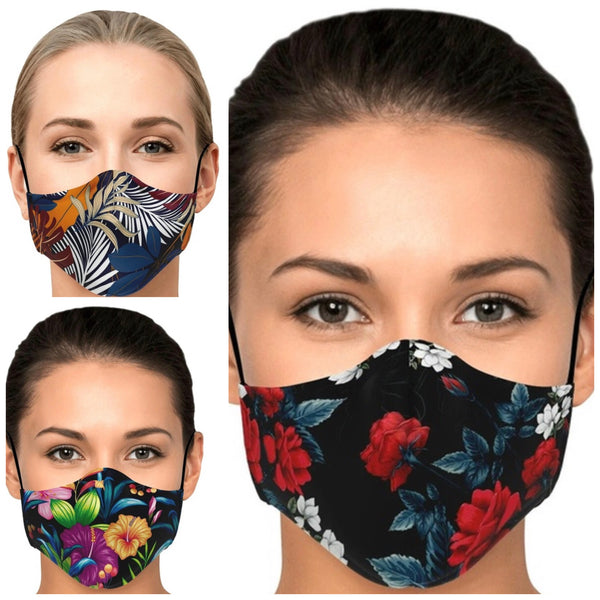 FREE ITEM Design Printed Face Mask - 3 Patterns Available