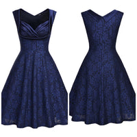 Floral Lace Swing Dress, Sizes Small - 2XLarge