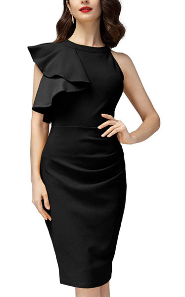 Women's Business Wear Dress, US sizes 4 - 18 (Black)