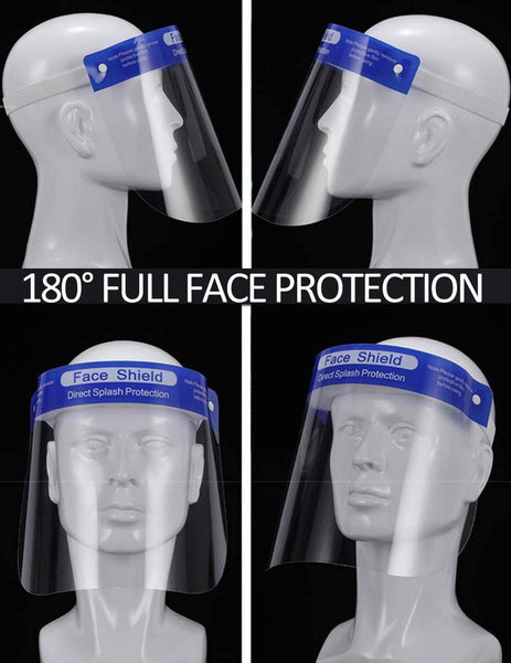 FREE ITEM Protective Face Shield with Clear Wide Visor