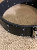 Kids Faux Leather Two Hole Belt