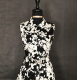 Perceptions Black  & White Floral Dress - US Size 12