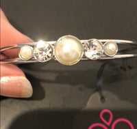 Wedding Waltz White Bracelet