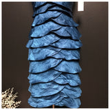 Dress Barn Blue Tiered Dress, US Size 6