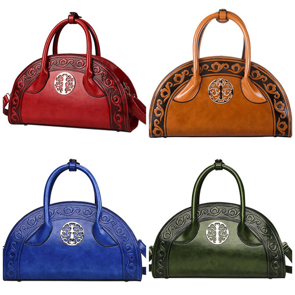 Women's Chinese Cultural Style Handbag - Four Color Choices