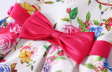 Little Girl's Pink Floral Bow-Tie Party Dress, Sizes 2T - 14 years