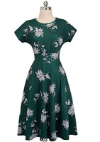 Floral Print Midi Dresses, US Sizes 4 - 12