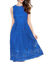 Sleeveless Lace Cocktail Dress, Sizes XS - 2XL