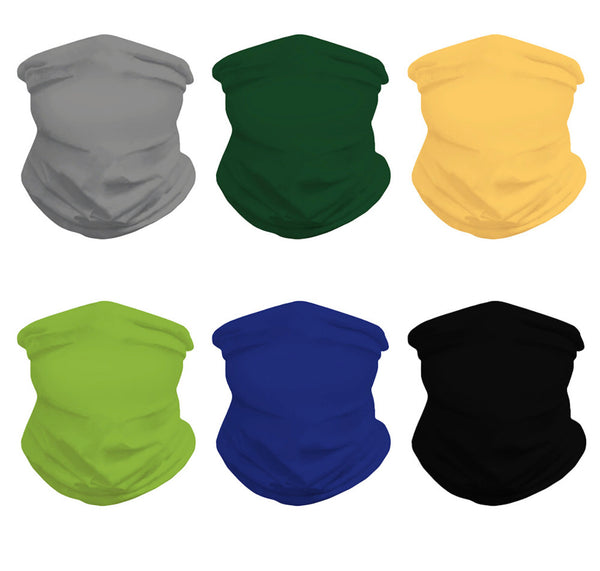 FREE ITEM High Elastic Solid Color Face Masks - 6 Color Choices