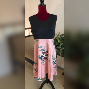 Floral Mid Length Dress, New without Tags