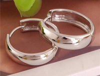 925 Sterling Silver Small Hoop Earrings