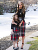 Mommy & Me Plaid Dress, Mommy Sizes Small - 2XLarge, Child Sizes 3T - 12T