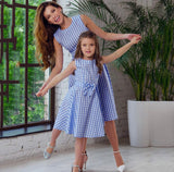 Vintage Inspired Mommy and Me Plaid Dresses