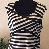 Ashley Stewart Striped Dress,  US Size 12