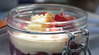 Spring Trifle W/ Butter & Lemon Olive Oil & Peach Balsamic