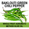 Baklouti Green Chili Olive Oil Agrumato Method