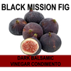 Black Mission Fig Balsamic Vinegar Condimento