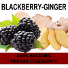 Blackberry Ginger Balsamic Vinegar Condimento