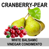 Cranberry Pear Balsamic Vinegar Condimento
