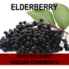 Elderberry Dark Balsamic Vinegar Condimento