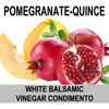Pomegranate-Quince White Balsamic Vinegar Condimento