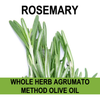 Rosemary Olive Oil Whole Herb Agrumato Method