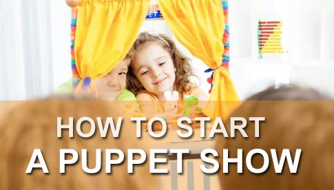How to start a puppet show