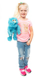 "14"" Monster Puppet Blue"