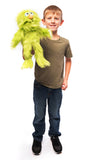 "14"" Monster Puppet Green"