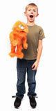 "14"" Monster Puppet Orange"