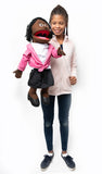 "25"" Barbara Puppet Black"