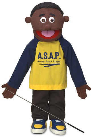 "25"" Always Say A Prayer Boy Puppet"
