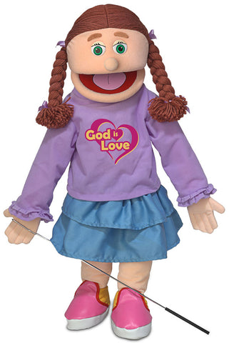 "25"" God Is Love Girl Puppet"