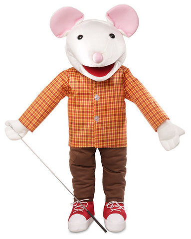 "25"" Mouse with Sneakers Puppet"
