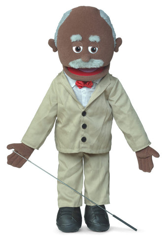 "25"" Pops Black Puppet"