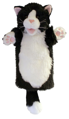 "15"" Cat B&W Puppet (Long Sleeve)"