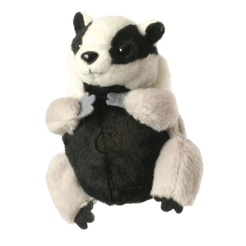 "6"" Badger Finger Puppet"