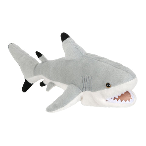 "12"" Black Tip Shark Finger Puppet"