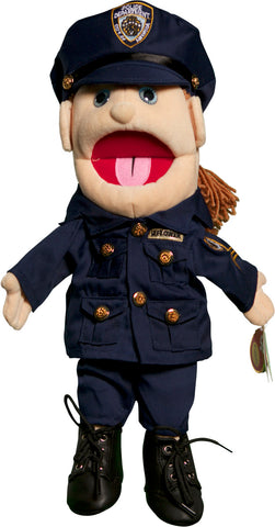 "14"" Policelady Glove Puppet"