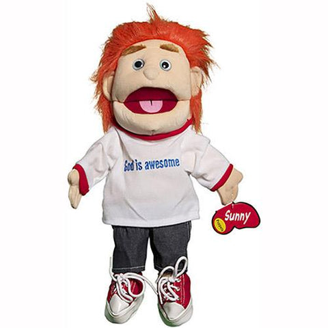 "Sunny Toys 14"" Red-Haired Boy/God Is Awes"