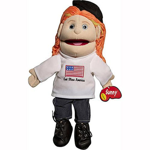 "Sunny Toys 14""Red-Haired Girl/God Bless A"