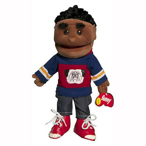 "Sunny Toys 14"" Ethnic Boy In Blue And Red"