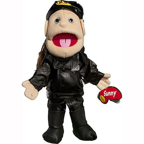 "Sunny Toys 14"" Biker In Leathers (Female)"