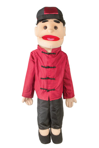 "28"" Asian Boy Puppet"