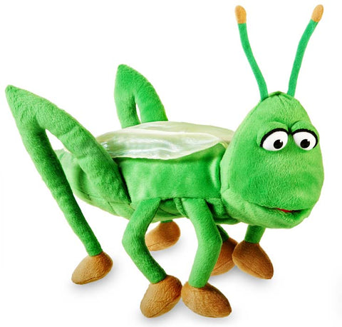 "15"" Silly Grasshopper Puppet"