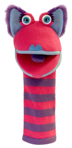 "16"" Kitty Sock Puppet"
