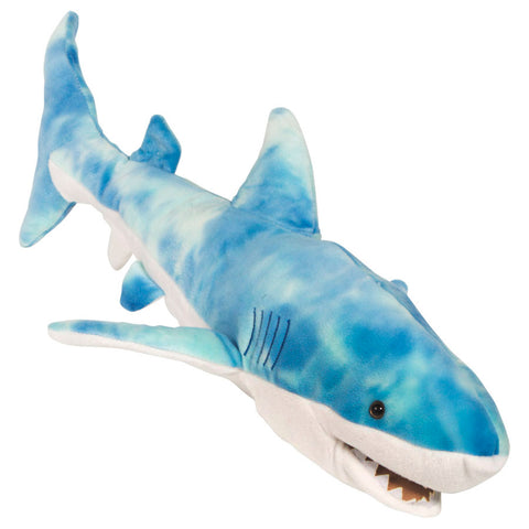 "24"" Shark Puppet Blue"