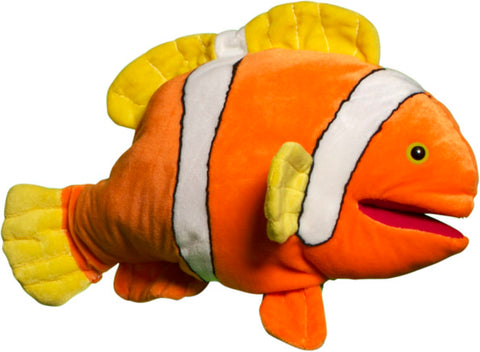 "16"" Anemone Clown Fish Puppet"